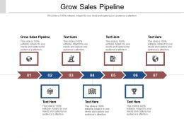 Grow Sales Pipeline Ppt Powerpoint Presentation Inspiration Brochure Cpb