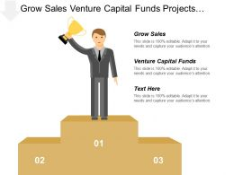 Grow Sales Venture Capital Funds Projects Portfolio Management
