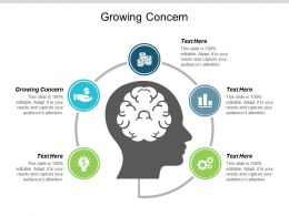 Growing Concern Ppt Powerpoint Presentation Gallery Structure Cpb