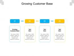 Growing Customer Base Ppt Powerpoint Presentation Gallery Grid Cpb