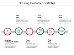 Growing Customer Portfolios Ppt Powerpoint Presentation File Example Introduction Cpb