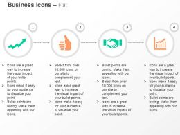 Growth Arrow Like Symbol Business Deal Growth Chart Ppt Icons Graphics