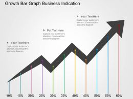 growth_bar_graph_business_indication_flat_powerpoint_design_Slide01
