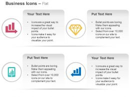 Growth Bar Graph Competitive Mobile Bar Graph Ppt Icons Graphics
