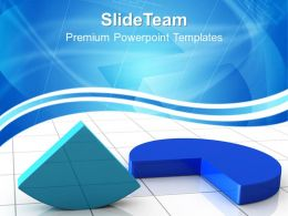 Growth bar graphs and pictographs powerpoint templates pie chart marketing ppt designs