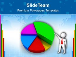 Growth bar graphs and pictographs templates pie chart finance editable ppt presentation Powerpoint