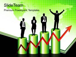 Growth blank bar graphs powerpoint templates success business ppt slides