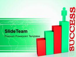 Growth blank bar graphs powerpoint templates success future ppt slide