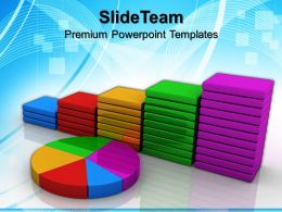 Growth blank bar graphs templates statistics business education ppt backgrounds Powerpoint
