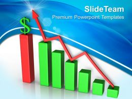 Growth business bar graphs templates increase and dollar finance ppt design Powerpoint