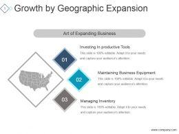 Growth By Geographic Expansion Ppt Sample Presentations
