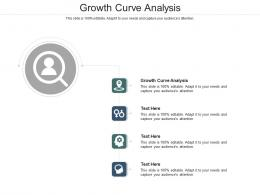 Growth Curve Analysis Ppt Powerpoint Presentation Gallery Gridlines Cpb