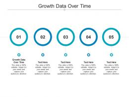 Growth Data Over Time Ppt Powerpoint Presentation Summary Professional Cpb