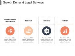 Growth Demand Legal Services Ppt Powerpoint Presentation Portfolio Rules Cpb