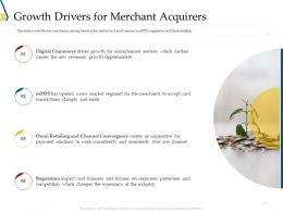 Growth Drivers For Merchant Acquirers Ppt Visual Aids