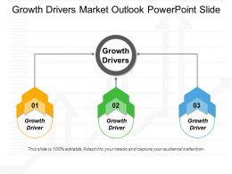 Growth Drivers Market Outlook Powerpoint Slide
