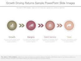 Growth Driving Returns Sample Powerpoint Slide Images
