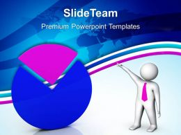 Growth easy bar graphs powerpoint templates pie business ppt process