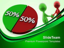 Growth Easy Bar Graphs Templates Pie Chart Percentage Business Leadership Ppt Designs Powerpoint