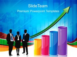 Growth energy bar graphs powerpoint templates with arrow business ppt slides