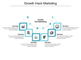 Growth Hack Marketing Ppt Powerpoint Presentation Model Mockup Cpb