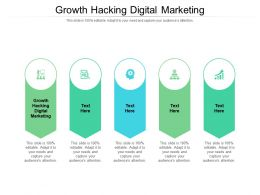 Growth Hacking Digital Marketing Ppt Powerpoint Presentation Portfolio Files Cpb
