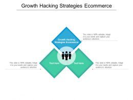 Growth Hacking Strategies Ecommerce Ppt Powerpoint Presentation Summary Professional Cpb