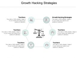 Growth Hacking Strategies Ppt Powerpoint Presentation Gallery Tips Cpb