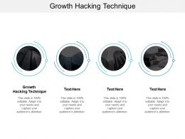 Growth Hacking Technique Ppt Powerpoint Presentation Icon Slides Cpb