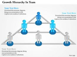 Growth Hierarchy In Team Powerpoint Templates