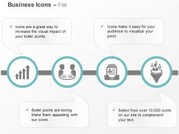 Growth Indication Business Deal Data Management Funnel Ppt Icons Graphics