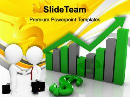 Growth make bar graphs online templates dollar and finance diagram ppt backgrounds Powerpoint