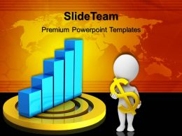 Growth Making Bar Graphs Excel Templates On Target01 Success Ppt Process Powerpoint
