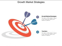 Growth Market Strategies Ppt Powerpoint Presentation File Introduction Cpb