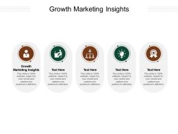 Growth Marketing Insights Ppt Powerpoint Presentation Deck Cpb