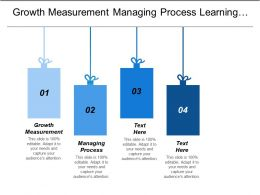 Growth Measurement Managing Process Learning Growing Understanding Needs