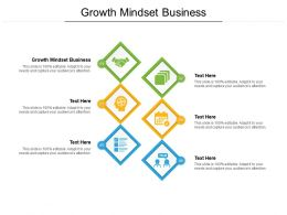 Growth Mindset Business Ppt Powerpoint Presentation Visual Aids Backgrounds Cpb