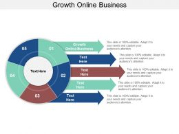 Growth Online Business Ppt Powerpoint Presentation Styles Graphics Download Cpb