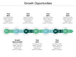 Growth Opportunities Ppt Powerpoint Presentation Gallery Information Cpb