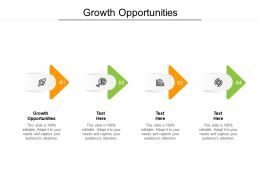 Growth Opportunities Ppt Powerpoint Presentation Model Ideas Cpb
