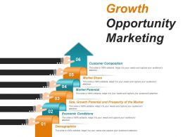 Growth Opportunity Marketing Powerpoint Show
