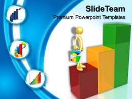 Growth Pics Of Bar Graphs Powerpoint Templates Business Ppt Process