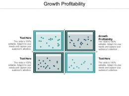 Growth Profitability Ppt Powerpoint Presentation Ideas Themes Cpb