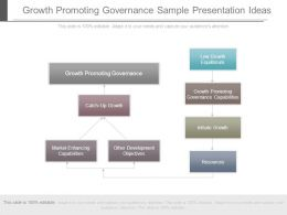 Growth Promoting Governance Sample Presentation Ideas