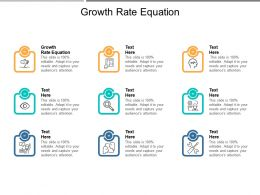 Growth Rate Equation Ppt Powerpoint Presentation Gallery Files Cpb