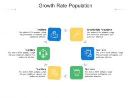 Growth Rate Population Ppt Powerpoint Presentation File Slides Cpb