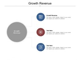 Growth Revenue Ppt Powerpoint Presentation Gallery Rules Cpb