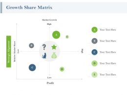Growth Share Matrix Profit Ppt Powerpoint Presentation Pictures Sample
