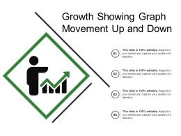 Growth Showing Graph Movement Up And Down