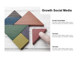 Growth Social Media Ppt Powerpoint Presentation Icon Graphics Download Cpb